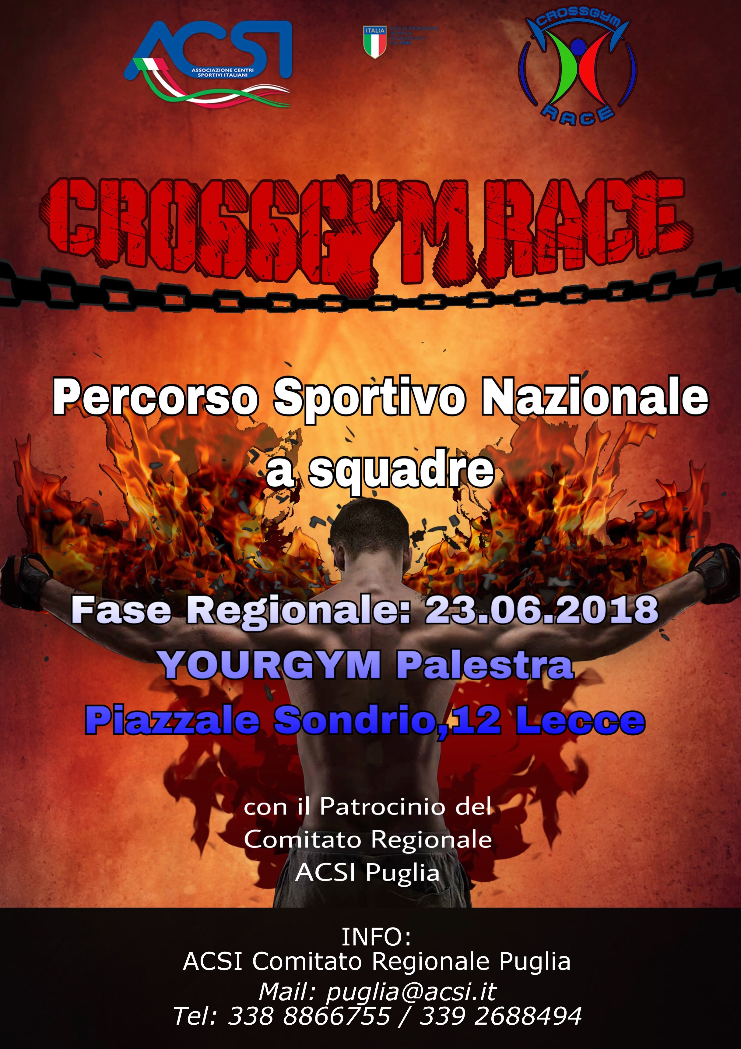 LECCE, FINALE REGIONALE DEL CROSS GYM RACE
