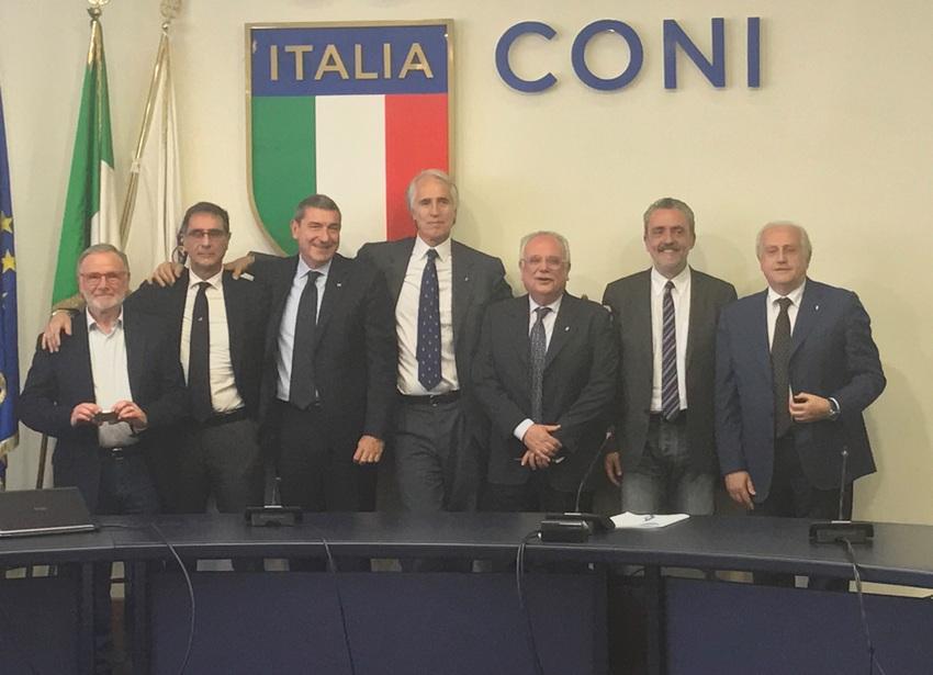 consiglio nazionale coni 2017